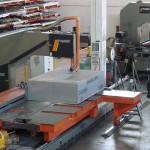 Sega a nastro per taglio Alluminio in lastre e blocchi fino a 900 x 1500 x 4000mm