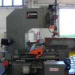 Band saw for big blocks in cast iron and aluminium up to 1500 x 650 x 3100mm