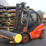 New Forklift with payload of 4 Ton