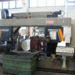 Automatic CNC band saw to cut bars up to Ø650 mm