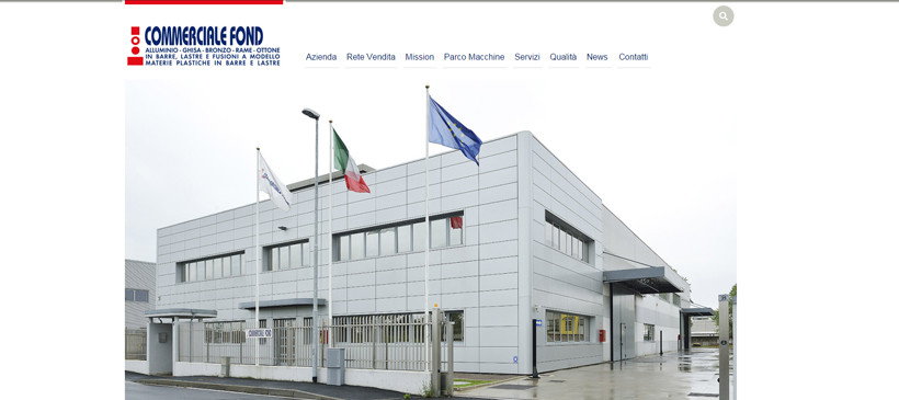 New Website Commerciale Fond